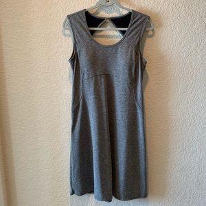 Prana keyhole back active dress, size M